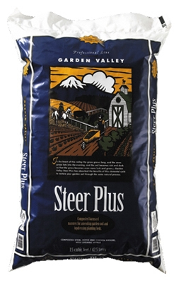 Garden Valley 1.5-Cu. Ft. Steer Plus Compost