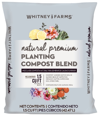 Organic Natural Premium Planting Compost Blend. 1.5-Cu. Ft.