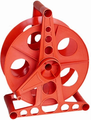 150-Ft. Orange Cord Storage Reel With Stand