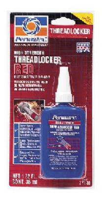 Red Threadlocker, 36-ml