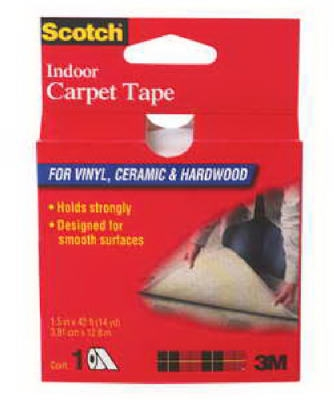 1-1/2 Inch x 42-Ft. Indoor Carpet Tape