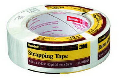 Strapping Tape, 1.5-In. x 60-Yrd.