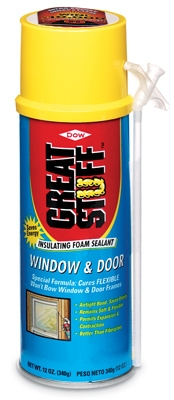Window & Door Foam Sealant,12-oz.