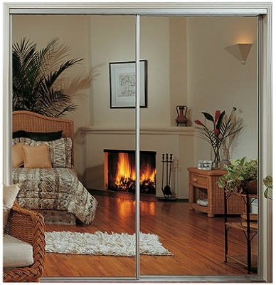 59x80-1/2 WHT Mirr Door