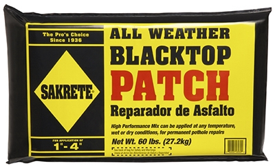 All Weather Blacktop Patch, 60-Lb.