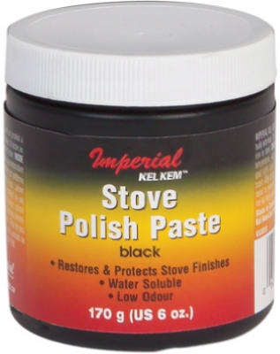 6-oz. Black Stove Polish Paste