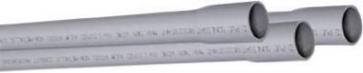 PVC Electrical Conduit, Schedule 40, 2.5-In. x 10-Ft.