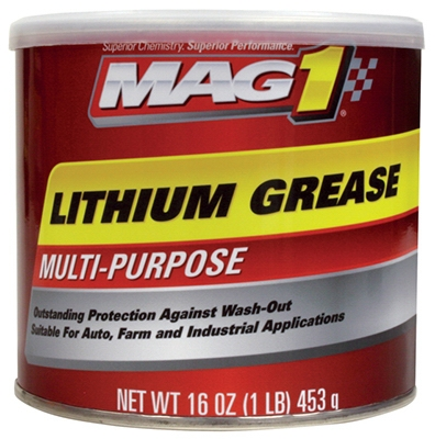 Multi-Purpose Lithium Grease, 16-oz.