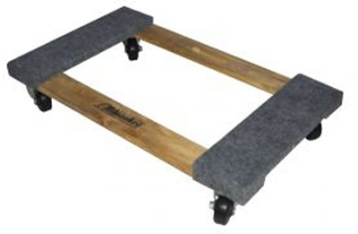 1000-Lb. Carpeted Furniture Dolly
