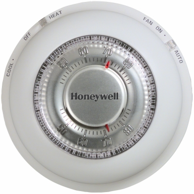 Round Heat/Cool Thermostat