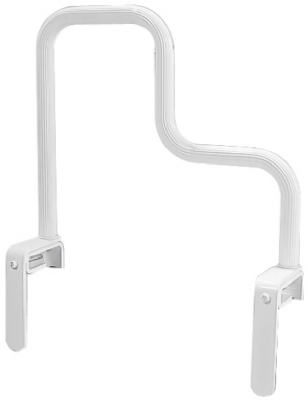 Multi-Grip Bathtub Safety Bar, White