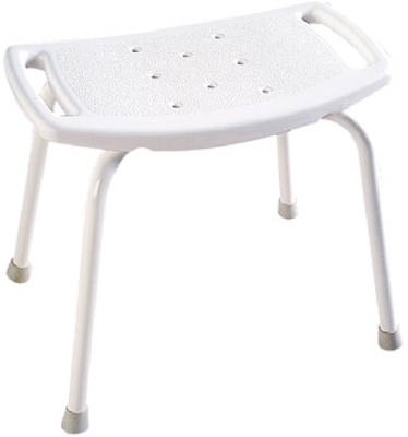 Bath Safety Tub & Shower Seat,  11 x 19-Inch White