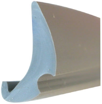 .190 x .470 x 200-Ft. Gray Vinyl Glazing Spline