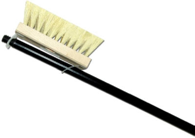 Roofing Brush With Metal Handle, Tampico & Wood, 7-In.