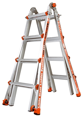 Type 1 Articulating Ladder, 17-Ft.