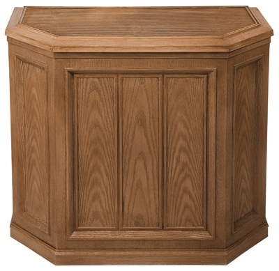 Credenza Evaporative Humidifier, Light Oak, 5.6-Gal. Water Capacity, Up to 3600 Sq. Ft. Coverage,