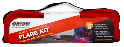Road Safety Flares, 30-Minute, 6-Pk.