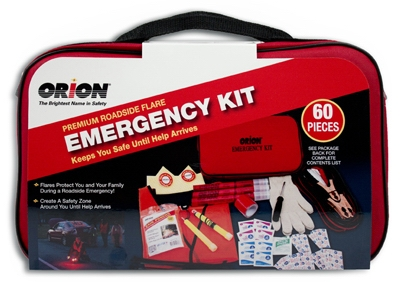 Road Flare Emergency Kit, 60-Pc.