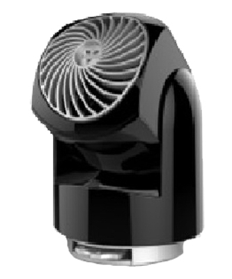 Flippi V6 Personal Air Circulator, 2-Speed, Black