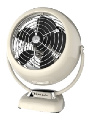 VFan Junior Vintage Air Circulator, Cr me Metal