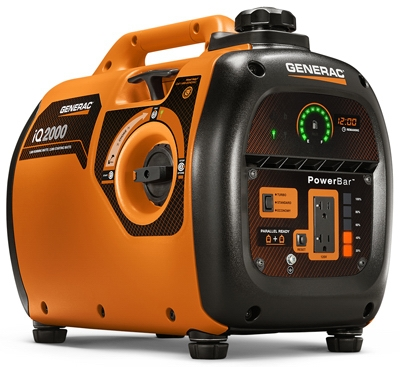 Portable Inverter Generator, 1,600-Watt