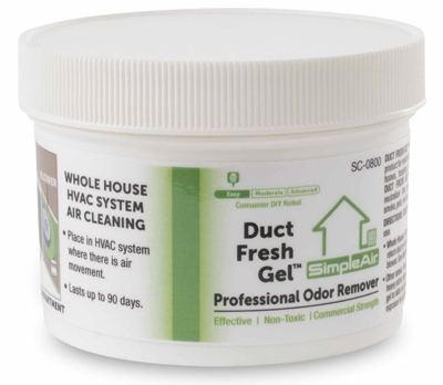 Duct Fresh Gel, 8-oz.