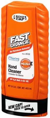 Fast Orange Pumice Hand Cleaner, 15-oz.