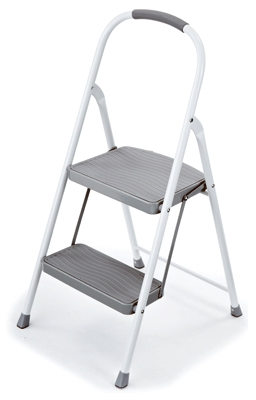 Step Stool, 2-Step, Steel
