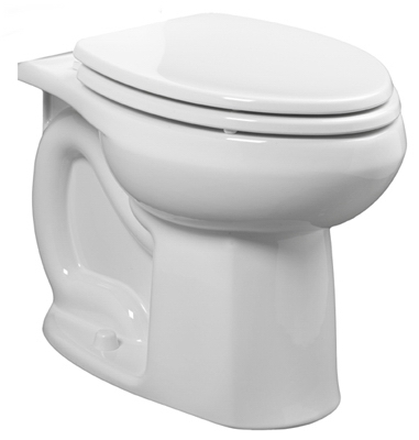 Colony Toilet Bowl, Elongated, White