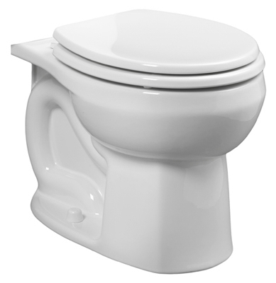 Colony Toilet Bowl, Round, White