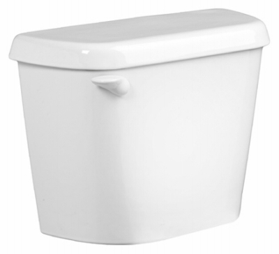 Colony Toilet Tank, 1.6 GPF, White, 12-In.