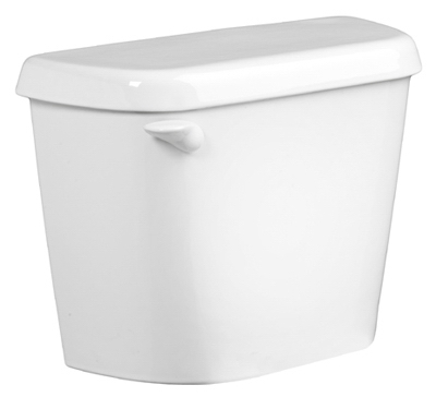 Colony HET Toilet Tank, 1.28 GPF, White, 12-In.