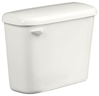 Colony HET Toilet Tank, 1.28-GPF, White, 10-In.
