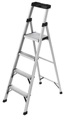 Hybrid Ladder, 4-Step, 5.5-Ft.