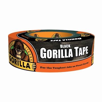 Duct Tape, Black, 1.88-In. x 35-Yds.