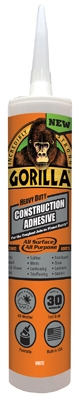 Construction Adhesive, Heavy-Duty, 9-oz.