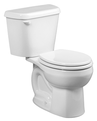 Colony Toilet-To-Go, Round, 1.6 GPF, White
