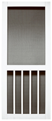 Magnolia Series Screen Door, White Vinyl, 35 x 79.5-In.