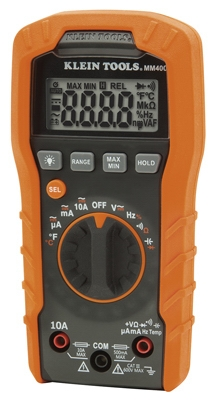 Digital Multimeter, Auto Ranging, 600-Volts