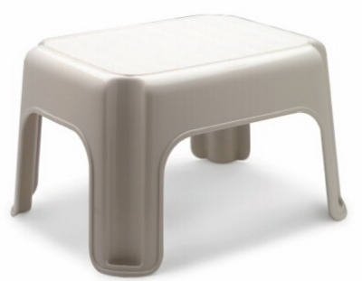 Step Stool,Bisque