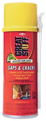 Gaps & Cracks Minimal Expanding Foam Sealant, 12-oz.
