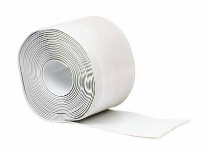 4-Inch x 20-Ft. White Vinyl Adhesive Wall Base