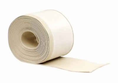 4-Inch x 20-Ft. Almond Vinyl Adhesive Wall Base