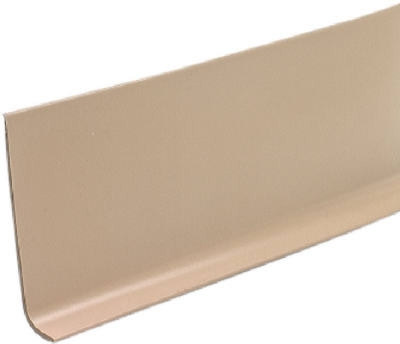 4-Inch x 4-Ft. Beige Vinyl Wall Base