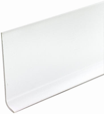 4-Inch x 120-Ft. White Vinyl Wall Base
