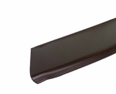 2-1/2 Inch x 4-Ft. Brown Vinyl Wall Base