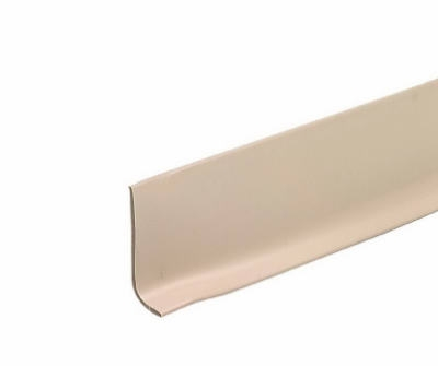 2-1/2 Inch x 4-Ft. Desert Beige Vinyl Wall Base