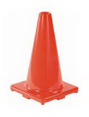 12-Inch Orange Safety Cone