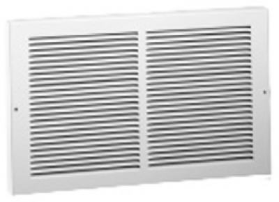 14 x 6-Inch White Base Intake
