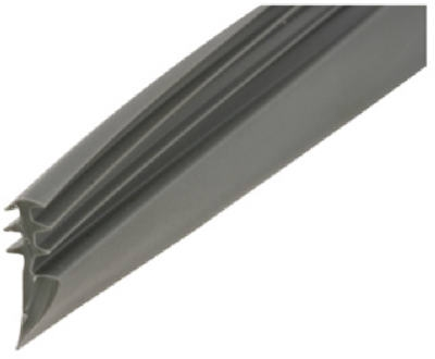 .130 x .430 x 200-Ft. Gray Vinyl Glazing Spline